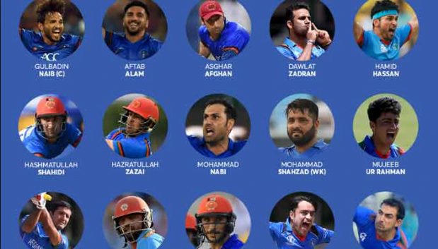 Afghanistan cricket team squad 2019
