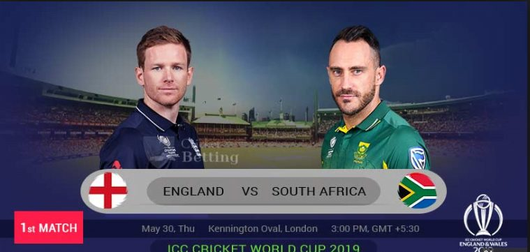south africa vs england 1st world cup 2019 match