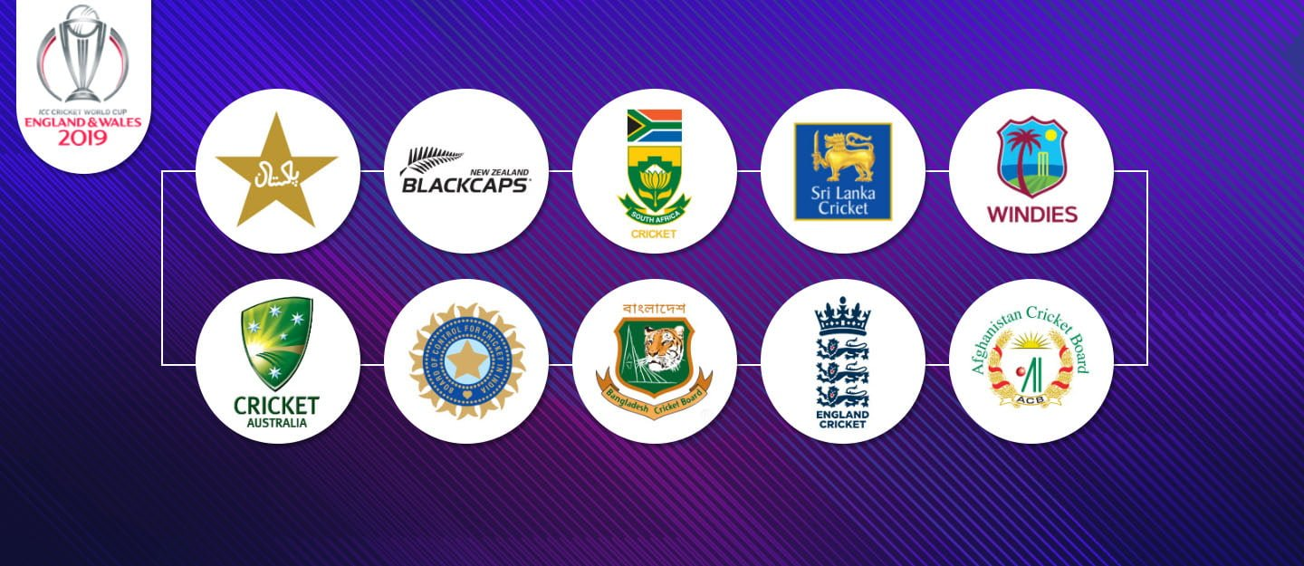Complete ICC Cricket World Cup 2019 Schedule, Fixtures & Venues