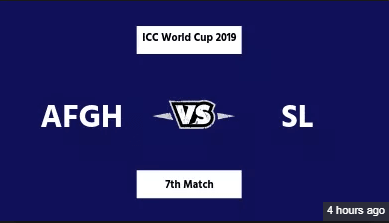 AFG vs SL Match 7th Prediction|Pitch Condition|And Weather Report 4th June World 2019Cup 2019
